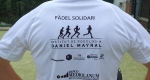 Pàdel solidario Les Piscines